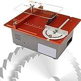 Elektrische Mini-Tischkreissäge, DIY-Modell Tragbare Tischkreissäge, Multifunktionale...