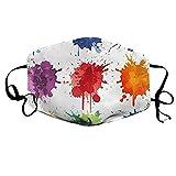 1PC Atmungsakti Mundschutz Neckwarmer Anti Staub Erntedank Mund Stoff Taschen Mundabdeckung für...
