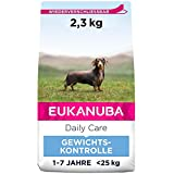 Eukanuba Daily Care Weight Control für kleine & mittelgroße Rassen - Fettarmes Hundefutter zum...