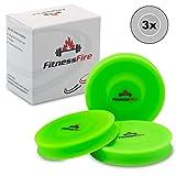 3er Set Mini Frisbee - Die kleine Frisbeescheibe fliegt über 60 Meter weit - Die Neue Trendsportart...