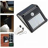 Solar-Gartenleuchten Outdoor, Solarsicherheits-Lic 12 LED Solar PIR Bewegungs-Sensor-Licht-im Freien...