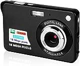 QINGTIAN Digitalkamera,2,7-Zoll-HD-Kamera für Rucksacktouren Wiederaufladbare Minikamera...
