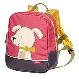 SIGIKID Mädchen, Kinder-Rucksack mit Tiermotiv Hund Forest, empfohlen für 2-5 Jährige, rosa,...