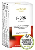 Sanhelios F-BRN Komplex Kapseln - Grner Tee, Grner Kaffee, Guarana, Schwarzer Pfeffer, Mineralstoffe...