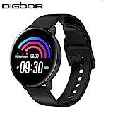 SHIBA Smart Watch Blutdruckmessung Uhr reloj inteligente Herzfrequenz-Tracker Fitness Armband...