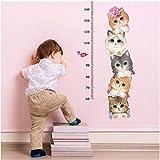 Y56 Wanddeko fürs Kinderzimmer, Katzen Wandaufkleber Wandkunst Aufkleber DIY Vinyl Home Decor,...
