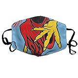 Anti-Staub-Maske, gegen Verschmutzungen, waschbar, wiederverwendbar, Mund