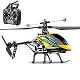 YUHT Ferngesteurter Helicopter RC Hubschrauber 4 Kanal 2.4 G LED Leucht und Gyro-Technik Geschenk...