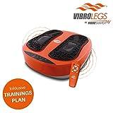 Mediashop VibroLegs | Vibrationsplatte | Kombination aus Vibration und Massage, inkl. Fernbedienung,...