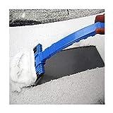 Schneeschaufel Für Autos, Schneewischer Schneeschaufel Schneepflug Schneepflug Auftau(Blau) (Size :...