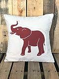 unknow Bama Roll Tide Crimson Tide Elefant University of Alabama Kissenbezug Fußball College...