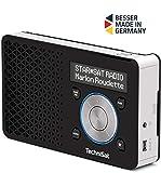 TechniSat Digitradio 1 tragbares DAB Radio mit Akku (DAB+, UKW, Lautsprecher, Kopfhreranschluss,...