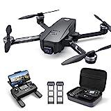 Holy Stone HS720E GPS Drohne mit 4K EIS UHD Kamera,Quadrocopter ferngesteuert mit 2 Akkus Lange...