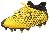 PUMA Unisex-Kinder Future 5.4 Fg/ag Jr Botas de fútbol, Gelb (Ultra Yellow Black), 34 EU
