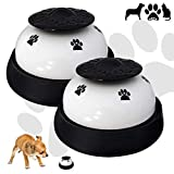CUKCIC Türglocken Trainingsglocken für Hund Haustier Tischklingel Töpfchen Trainings