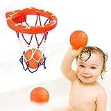 Badewannenspielzeug,Badespielzeug Baby,Basketballkorb Mini Badewanne,Wasserspielzeug,Basketballkorb...