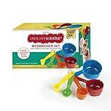 Kinderleichte Becherküche Becher-Set 5 Messbecher in verschiedenen Größen passend zu Allen...