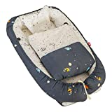 Baby Lounger Baby-Schlaf-Nest Pod Tragbares Reise Säuglingsbett Multifunktions-Breathable...