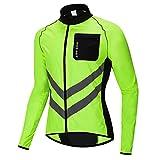 WOSAWE Fahrradjacke für Herren Damen wasserdichte Ultraleichte Sportbekleidung Atmungsaktiv für...
