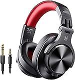 OneOdio Bluetooth Kopfhörer Over Ear Geschlossene HiFi Studiokopfhörer mit Share Port,...