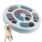 Elezenioc Hundespielzeug Intelligenz Hundefutter Welpenspielzeug,Interaktives Verlangsamen Sie das...