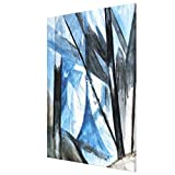 Lplpol Brooklyn Bridge (Study), Modern Art Canvas Print for Wall Art Decoration Wooden Framed (8 X...