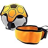 H/S Fußballtrainingsgerät, Fußball-Tritt-Wurftraining, Solo-Trainingshilfe, Kontrolle,...