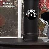 Enjoyyouselves Ofenthermometer, Magnetthermometer Kaminlüfterthermometer Mit Großem Display...