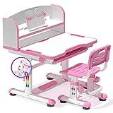 Kinder Kinder Schreibtisch Schreibtisch Stuhl Möbel Set, Höhenverstellbare Kinder Junior Mädchen...