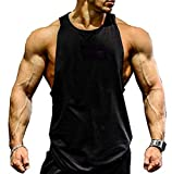 COWBI Herren Animal Muskelshirt Trägershirt Tanktop Für Workout, Training