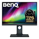 BenQ SW240 61,21 cm (24,1 Zoll) PhotoVue Monitor (LED, 1920 x 1200 Pixel, 16:10, 99% Adobe RGB, 95%...