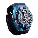WWSUNNY Wireless Bluetooth Lautsprecher Armbanduhr Tragbare Sport Armband MP3-Musik-Player UKW-Radio...