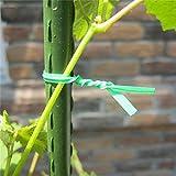 Rich-home Garten Twist Krawatte Verstellbare Pflanze Krawatten Pflanze Twist Bindedraht Für...
