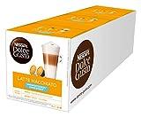 NESCAFÉ Dolce Gusto Latte Macchiato ungesüßt, 48 Kaffeekapseln, Ohne zugesetzten Zucker,...