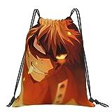 Bags My Hero Academia Rucksack mit Kordelzug, für Damen, Herren, Jungen, Outdoor-Aktivitäten,...