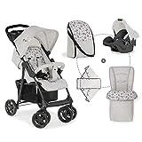 Hauck Shopper Shop N Drive Set Kinderwagen bis 25 kg + Autositz Gruppe 0 ab Geburt,...