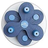 Flower Tower Dog Activity Strategiespiel Level 3 Leckerli-Spender weiß mit blau