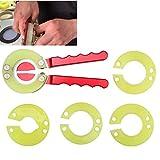 Boquite Uhr Lünette Ringöffner, Professional 4 Arten Removal Tool Uhr Repair Tool Zubehör für...