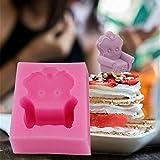 3D Silikonform Sofa-Form Handwerk Seifenform Für Kuchen Fondant Schokoladenherstellung