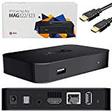 Eazynet MAG 322 Set-Top Box with 512MB RAM MAG 254 Upgrade Version Latest Model Genuine + Power...
