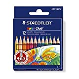 Staedtler Noris Club Coloured Pencils Anti-Break-System 12 Pack (144 01nc12) by Staedtler