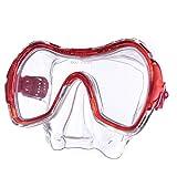 Salvas Jugend Tauchmaske Drop Schnorchel Taucher Schwimm Brille Maske Mit Nase Rot