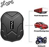 Winnes Starker Magnet GPS-Tracker, 3 Monate Lang Standby GPS, Fahrzeug Tracker Echtzeit Monitoring...