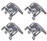 EFIXS Universalträger (Jalousieträger) (4 Stück) für Wand- oder Deckenmontage für...