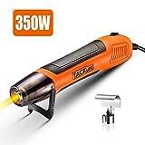 Mini Heißluftpistole, Tacklife Elektrische Heißluftfön 350W mit Reflektordüse, Temperatur 350℃...