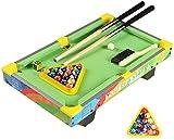 YUHT Kinder Buntes Billardtisch Spielzeug,Tischbillard,Haushaltsgroß Educational Billard,...