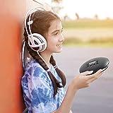 Tragbarer CD-Player TTLIFE HOTT 711THiFi Hochwertiger Musik-Player Bluetooth-CD-Player stoßfester...