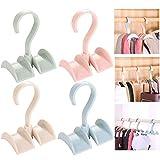 Xinlie Classico Haken Premium Krawattenhalter Gedreht Storage Rack Taschenhalter Handtaschenhalter...