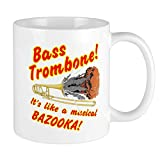 N\A Bass Posaune Musical Bazooka Tassen Einzigartige Kaffeetasse, Kaffeetasse