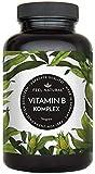 Vitamin B Komplex Kapseln - Mit 500 µg Vitamin B12 pro Tagesdosis - Besonders hochdosiert (10x) -...